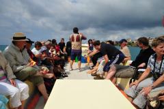 Bootsausflug auf dem Golf von Sapri