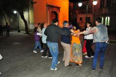 Abschlussabend auf der Piazza mit Tarantella