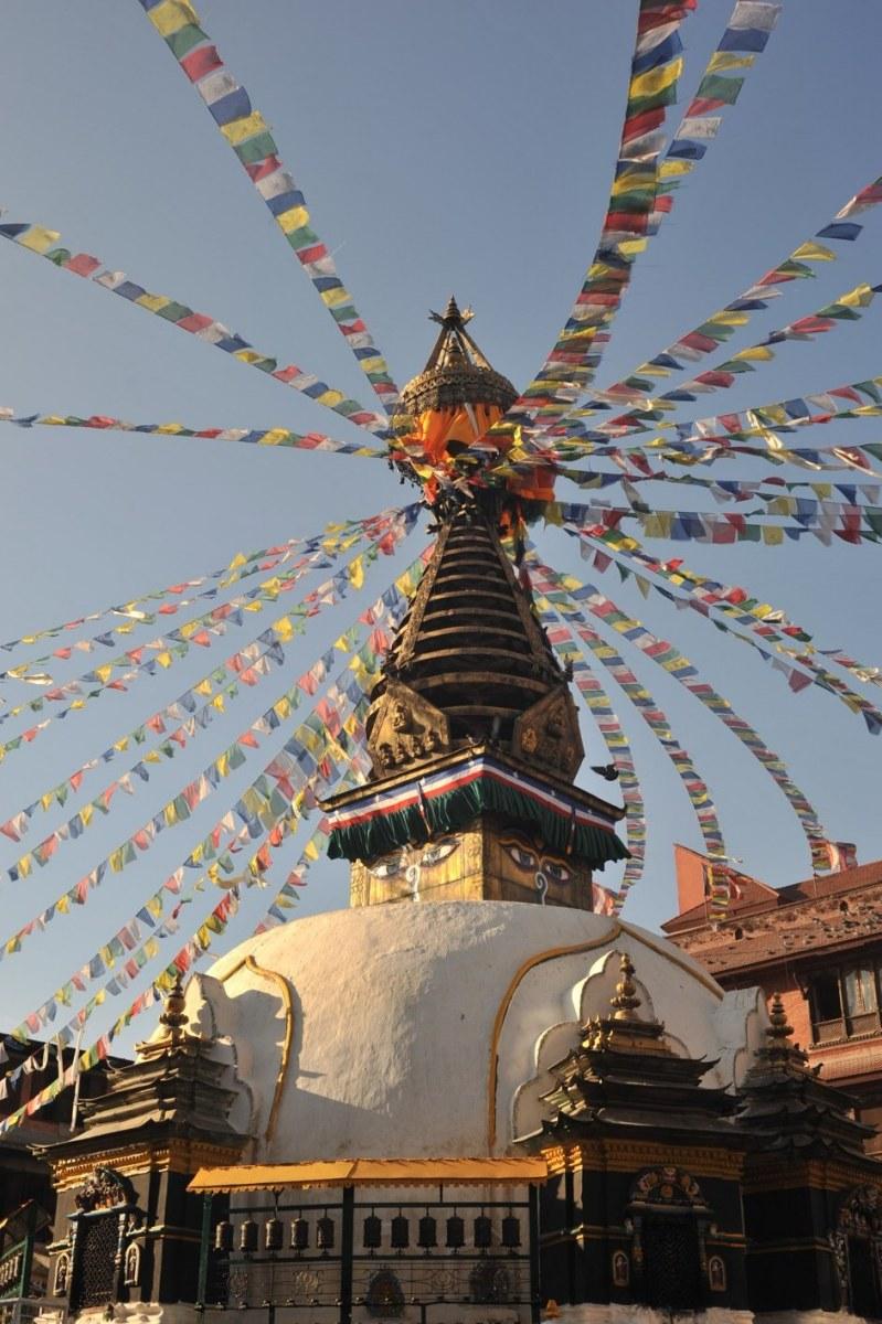 In der Hauptstadt Kathmandu 2009