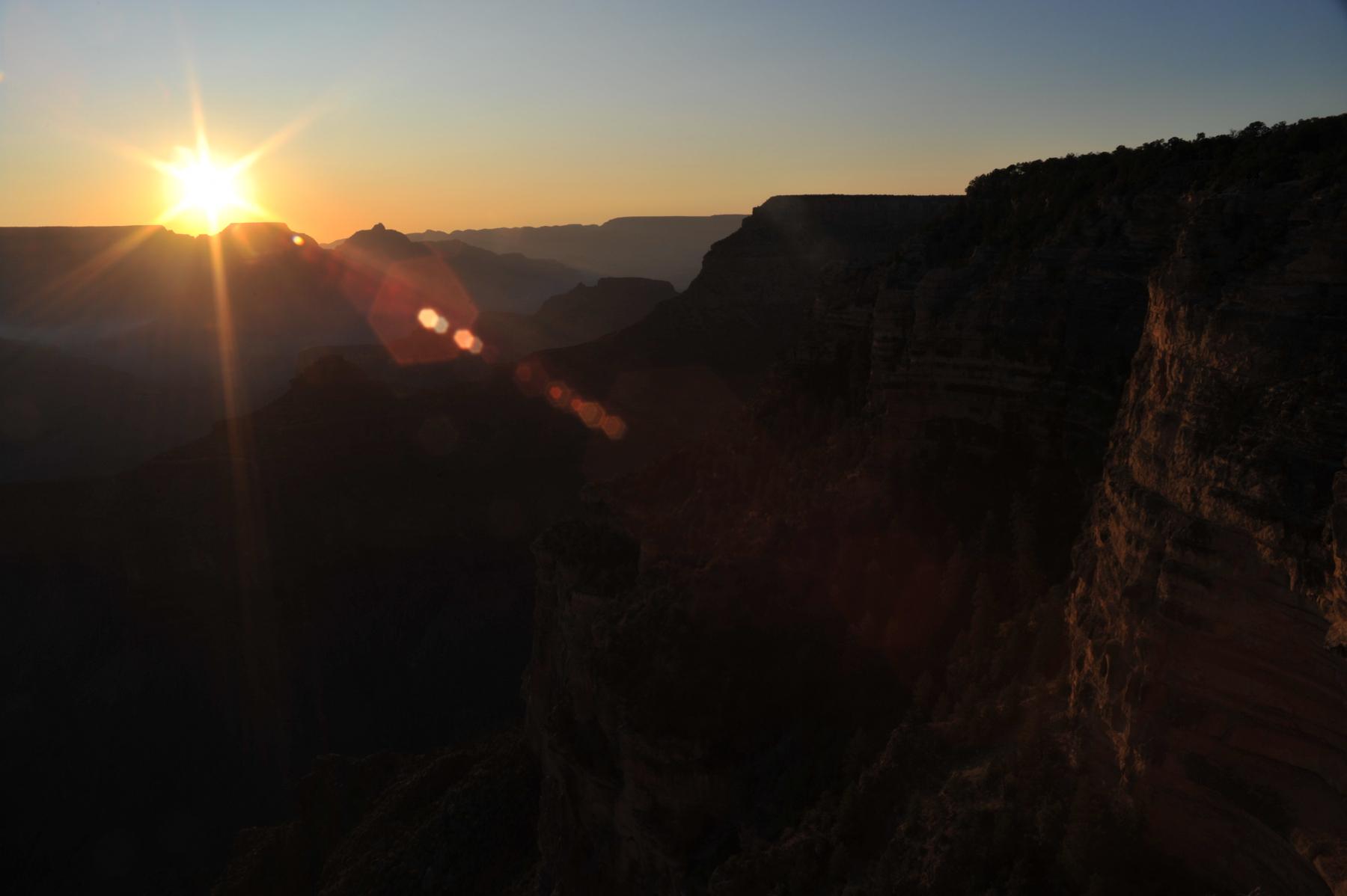 Grand Canyon - Sonnenaufgang