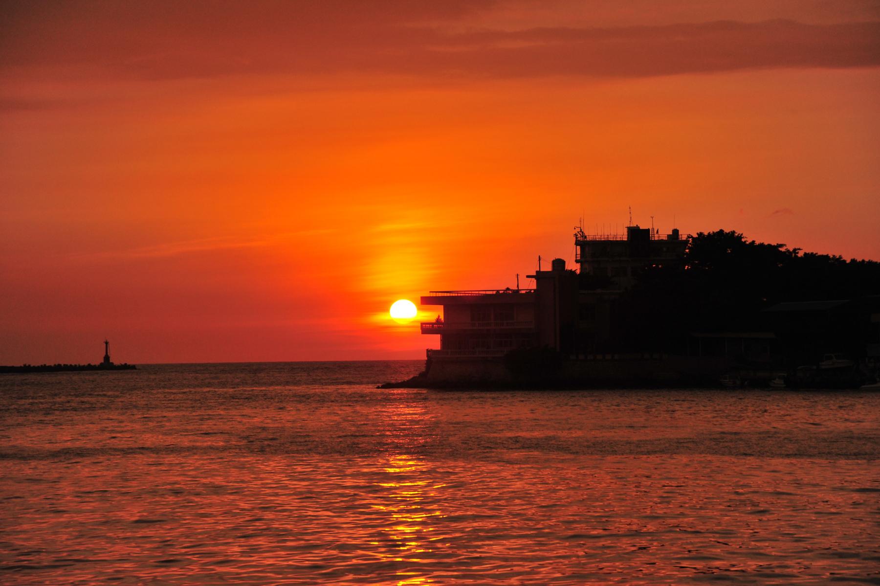 Kaohsiung, Hafeneinfahrt an den Insel Cijin