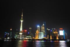 Reise Shanghai  2011 -  Bei Nacht