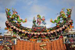 Reise Taiwan 2011 - Tian Gong Tempel in Tainan