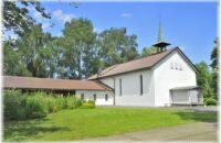 Die Aussegnungshalle in Gottmadingen erstrahlt nach der Sanierung in neuem Glanz