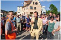 Groß war das Interesse beim Dorfgespräch zum Neubau der Eisenbahnüberführung