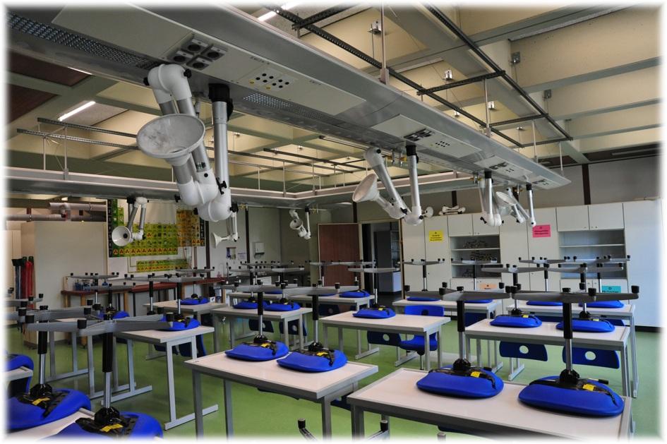 Neue Fachräume für die Eichendorffschulen