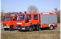 Das neue Feuerwehrauto in Bietingen