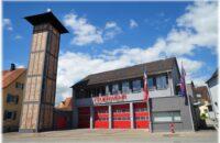Das sanierte und erweiterte Feuerwehrhaus in Gottmadingen