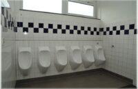 Neue Toiletten im Haptschulgebäude