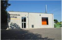 Die Heizzentrale in Randegg auf dem Gelände der Ottilienquelle