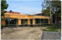 Mitten in der Bauphase: Der katholische Kindergarten