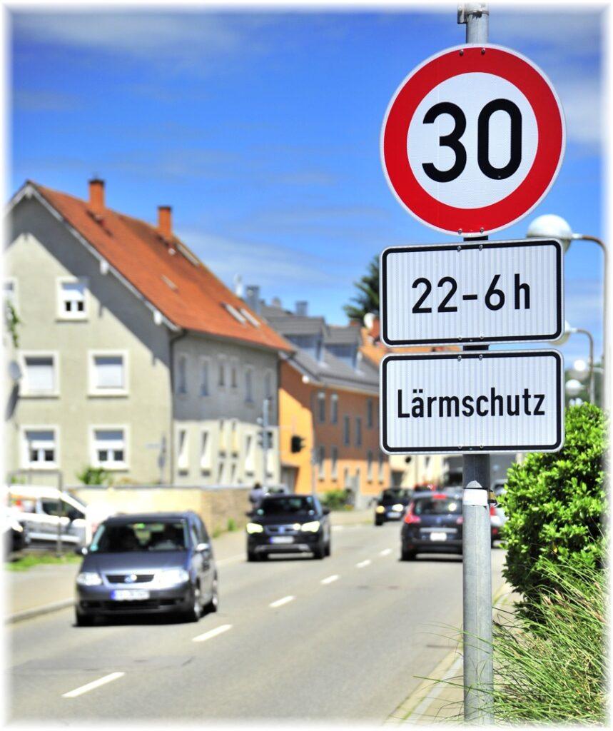 Tempo 30 nachts wurde für die Ortskerne von Gottmadingen und Randegg beschlossen.