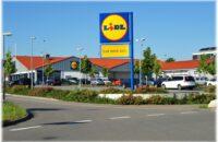 Der neu gebaute Supermarkt in Bietingen