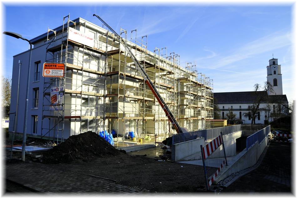 Neue Wohnungen entstehen in Gottmadingen