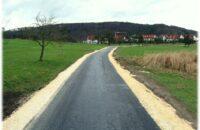 Der fertig gestellte Radweg von Gottmadingen nach Randegg