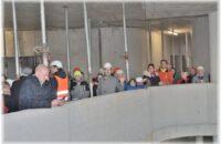 Fast 120 interessierte Gottmadingerinnen und Gottmadinger besichtigten den Rohbau