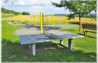 Der neu gesatltet Spielplatz am Ortsrand von Ebringen