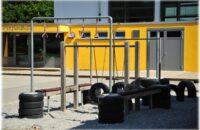 Der Bewegungsspielplatz an der Grundschule Randegg