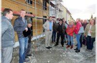 Besichtigung der Wohnungen im Neubau der Anneliese Bilger Stiftung