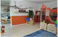 Gruppenraum für die Allerkleinsten im Kindergarten Täschen