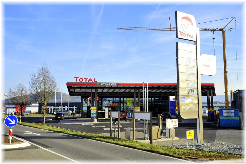 Endlich eine Tankstelle für Gottmadingen