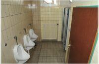 Erneuerungsbedürftig: Die WC-Anlagen in der Halle Randegg