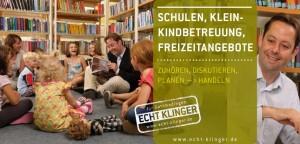 Titelbild Karte 2: Schulen, Kleinkindbetreuung, Freizeitangebote
