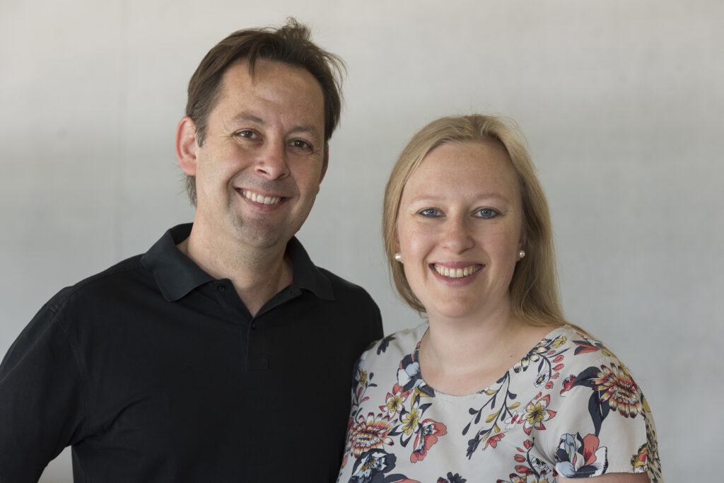 Kyra von Lienen und Michael Klinger